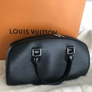 Louis Vuitton Jasmin Black Epi bag